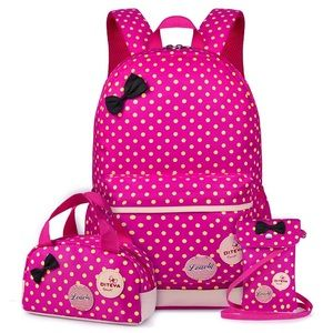 🎀Minnie Mouse 3 piece back pack set waterproof 🎀
